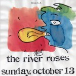 The River Roses/Electric Peace flyer