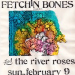 The River Roses/Fetchin Bones flyer