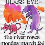 The River Roses/Glass Eye flyer