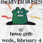The River Roses/Howe Gelb flyer