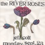 The River Roses/Jeff Colt flyer