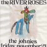 The River Roses/The Johnies flyer