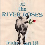 The River Roses/The Phantom Limbs flyer