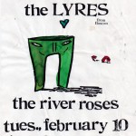 The River Roses/The Lyres flyer