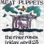 The River Roses/Meat Puppets flyer