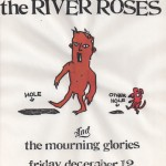 The River Roses/Mourning Glories flyer