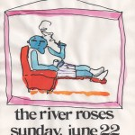 The River Roses/Pop Art flyer