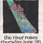 The River Roses/White Animals flyer