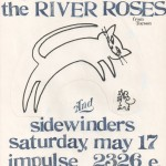 The River Roses/the Sidewinders flyer