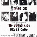 Ortho 28/The Vegas Kids/Dress Code flyer