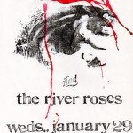 The River Roses/Angst flyer