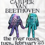 The River Roses/Camper Van Beethoven flyer