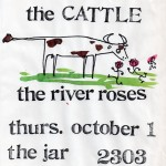 The River Roses/Al Perry & the Cattle flyer