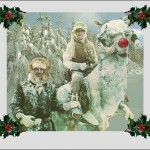 Ice Planet Hoth Christmas card