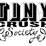 Logo for fashion designer TINYcrush Society of Ashfield, MA